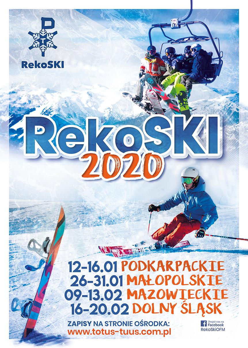 RekoSKI 2020  ZAPRASZAMY